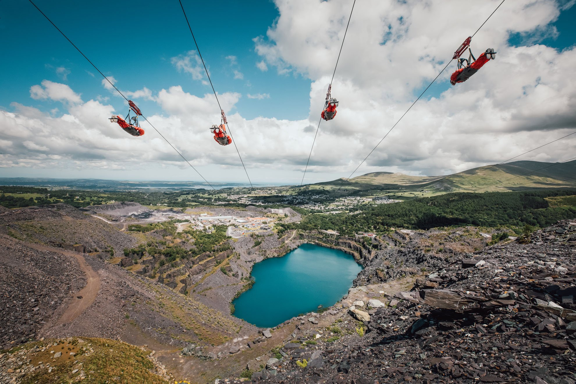 Zip World, North Wales